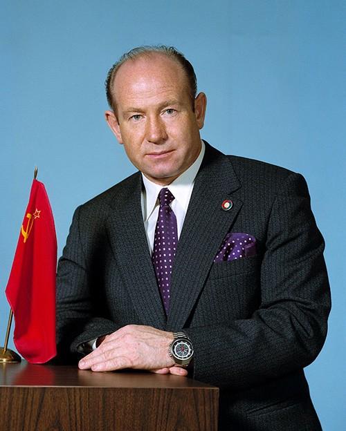 أليكسي أركييبوفيتش ليونوف رائد الفضاء السوفيتي - صورة التقطت عام 1974