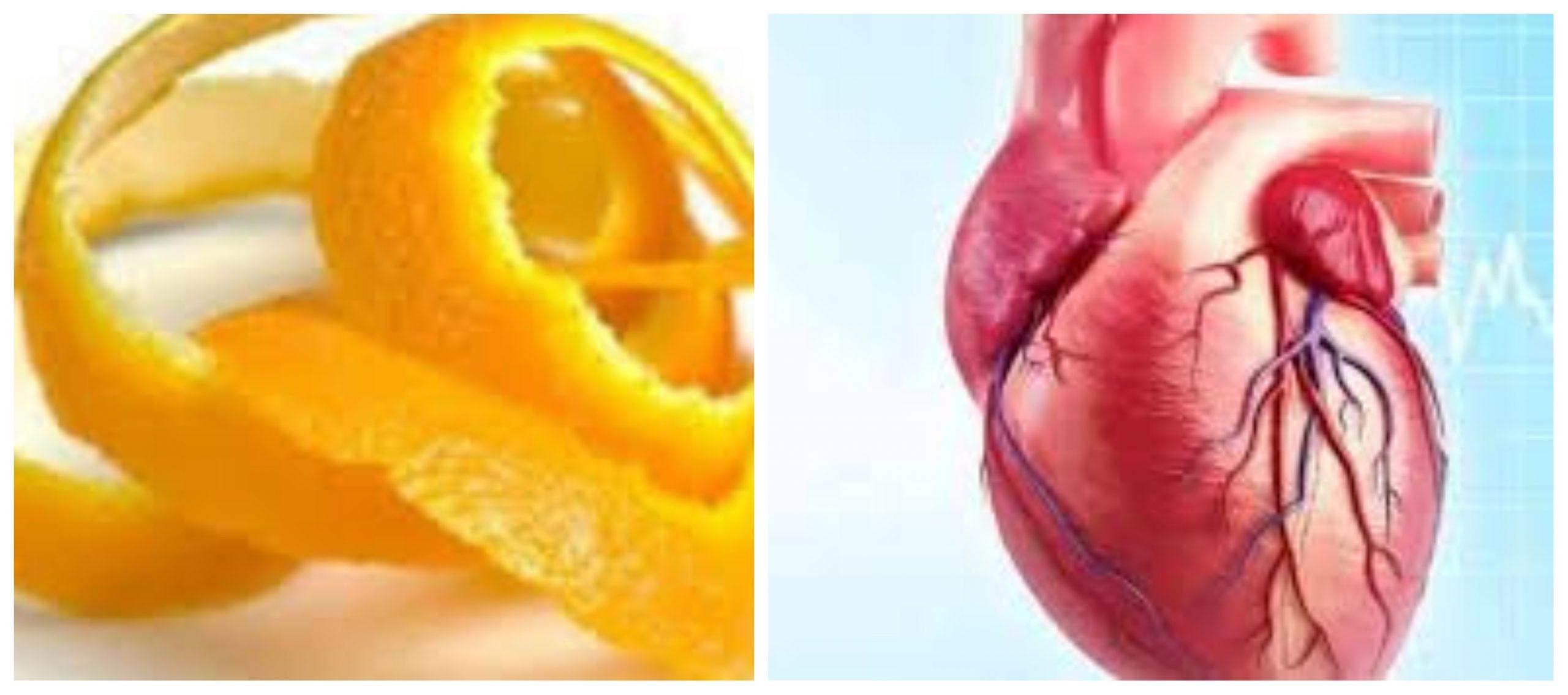 قشر البرتقال يدعم صحة القلب