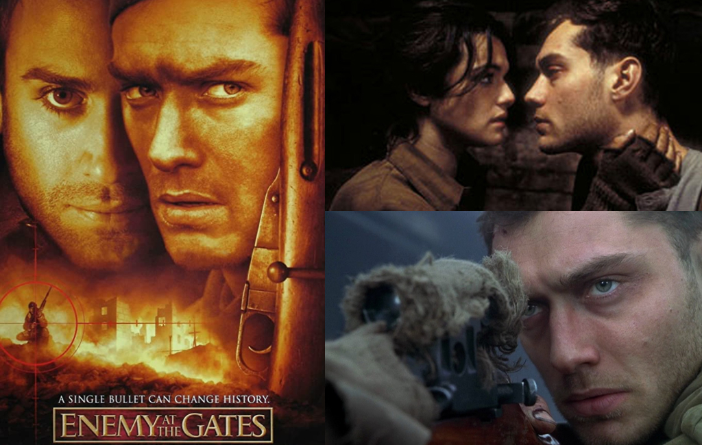 ملخص فيلم العدو يدق الأبواب Enemy at The Gates