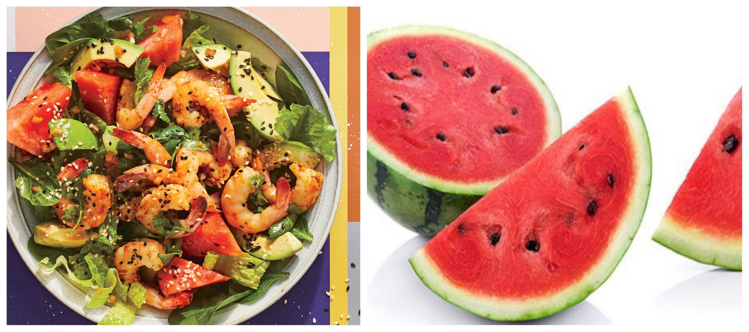 وصفة سلطة البطيخ
