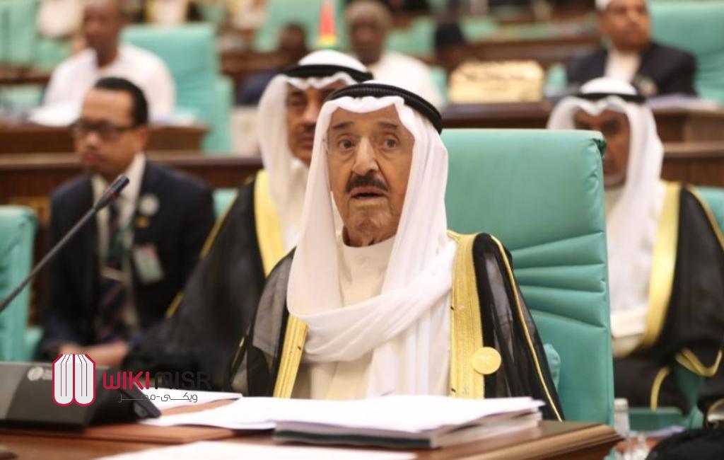 وفاة الشيخ صباح الأحمد الجابر