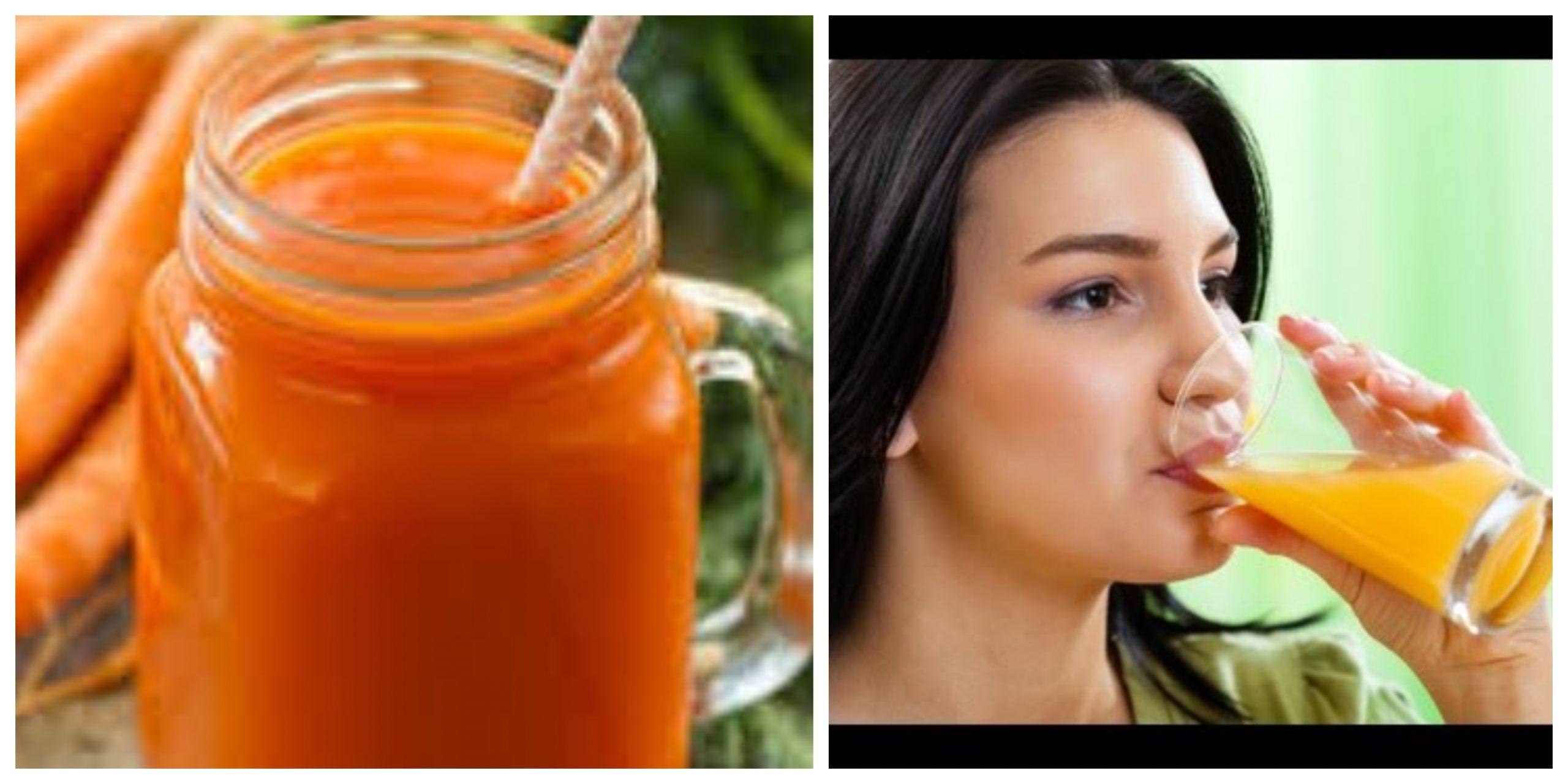 الفوائد الصحية المذهلة لتناول عصير الجزر