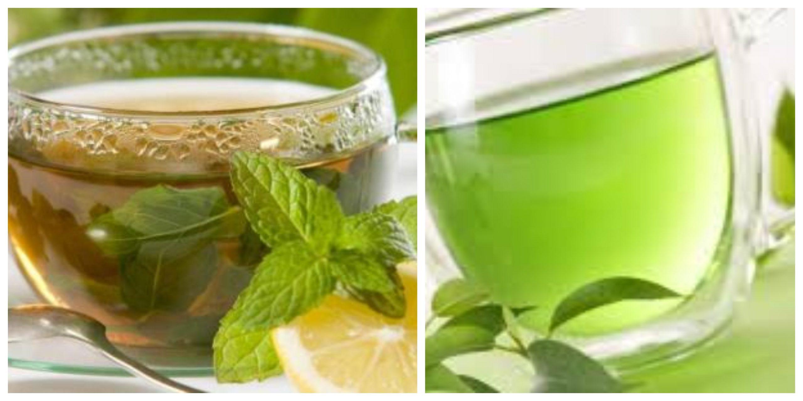 الفوائد الصحية لتناول مشروب الشاي الأخضر بالقرفة والكركم ووصفة سهلة لتحضيره 