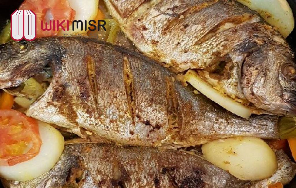 طريقة عمل صينية سمك بالفرن