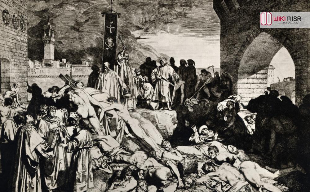 قصة الطاعون الأسود حول العالم