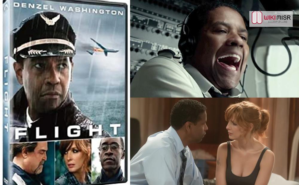 مراجعة فيلم FLIGHT رحلة طيران من بطولة دينزل واشنطون