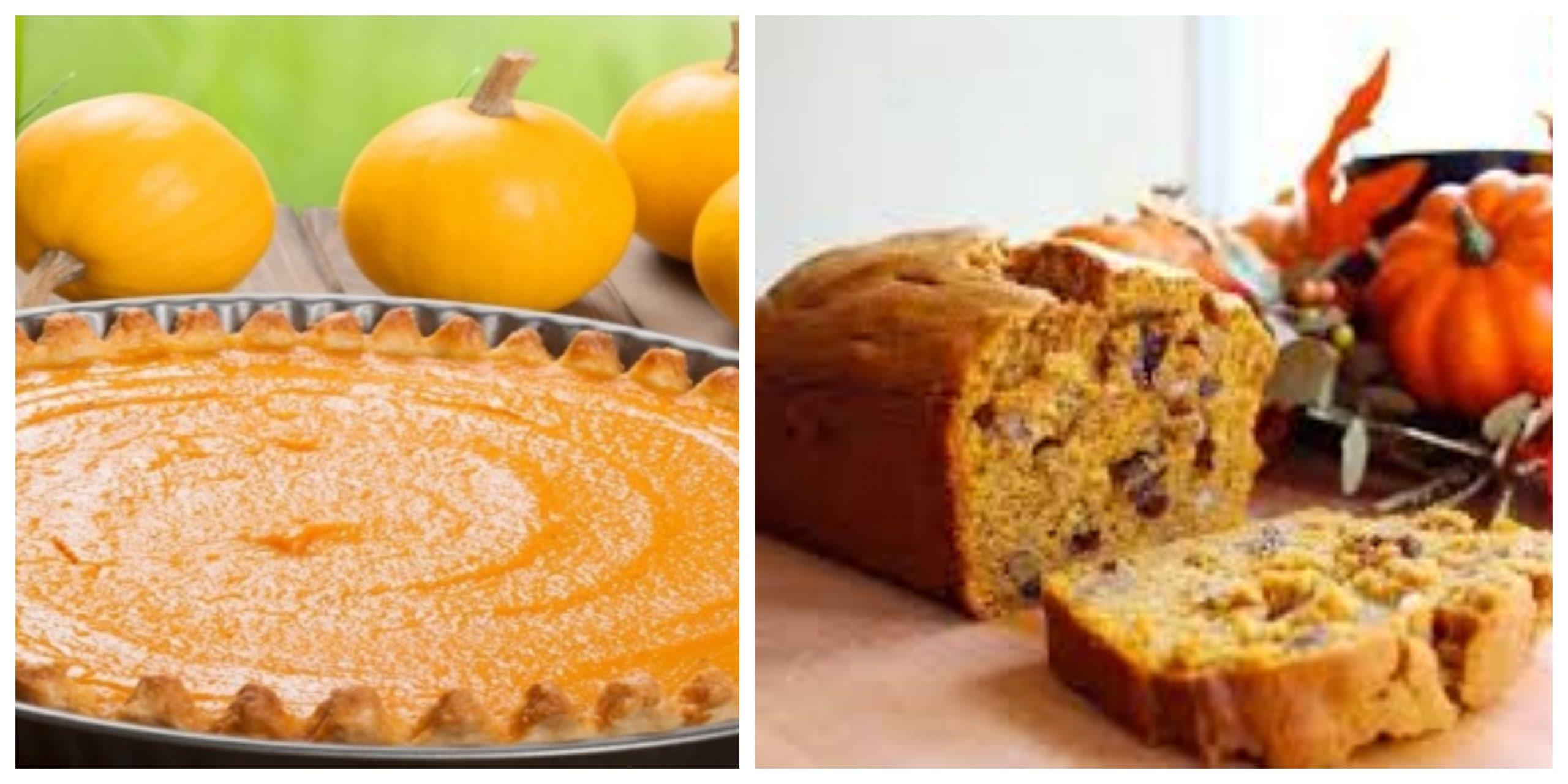 وصفات صحية لذيذة كعك القرع بالموز