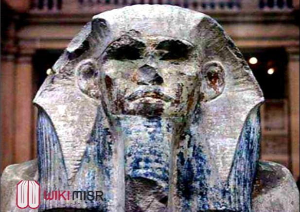 تمثال الملك زوسر بالمتحف المصري