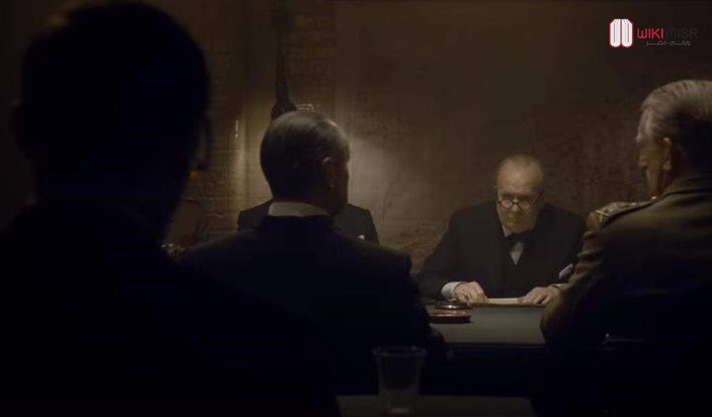 ونستون تشرشل كما يظهر في فيلم Darkest hour، إنتاج عام 2017م