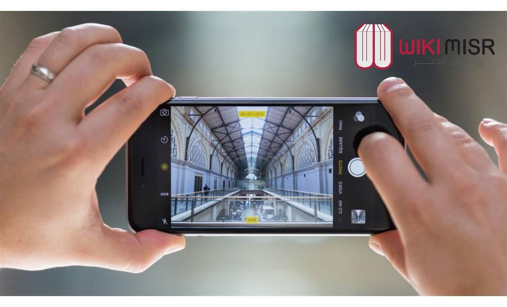 كاميرا هاتف iPhone 6s