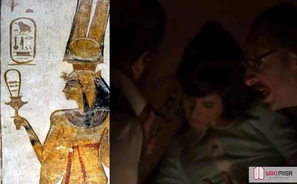 ما هي السيستروم التى ظهرت في حلقة لعنة الفرعون من مسلسل ما وراء الطبيعة؟
