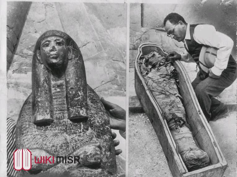 الهرم المدفون وانتحار عالم آثار- قصة التابوت الملكى الذى فتح بحضور جمال عبد الناصر