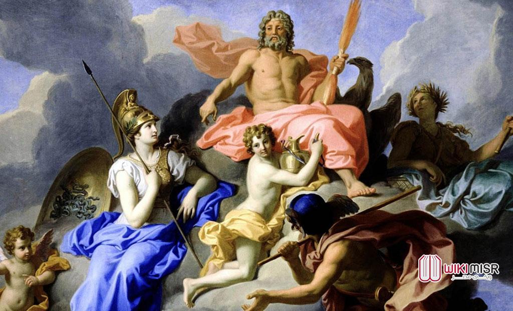 آلهة الإغريق في عالم الكومكس