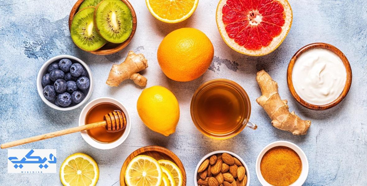 أطعمة لزيادة مناعة الجسم