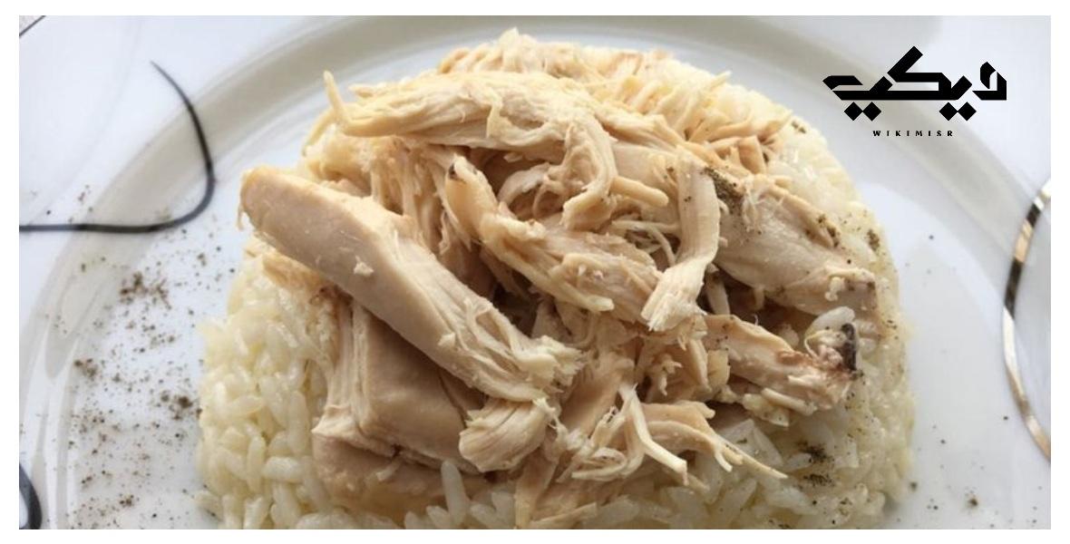 طريقة عمل الأرز بالدجاج منال العالم
