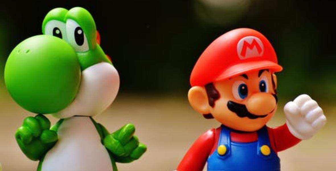 سوبر ماريو من صور ألعاب الأطفال