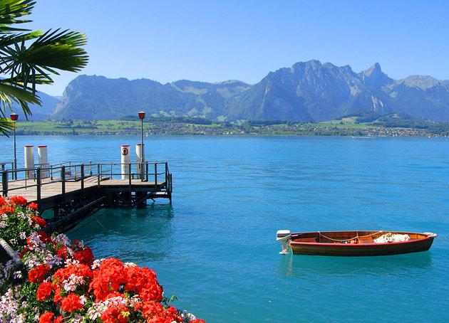 صورة بحر من سويسرا