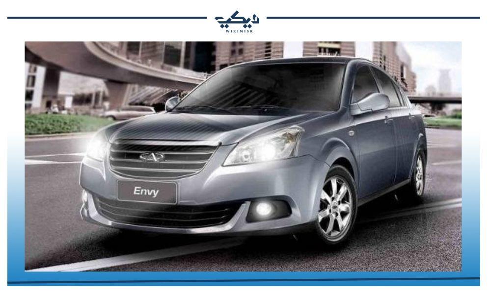 سيارة شيري إنفي السيدان موديل 2017 في مصر