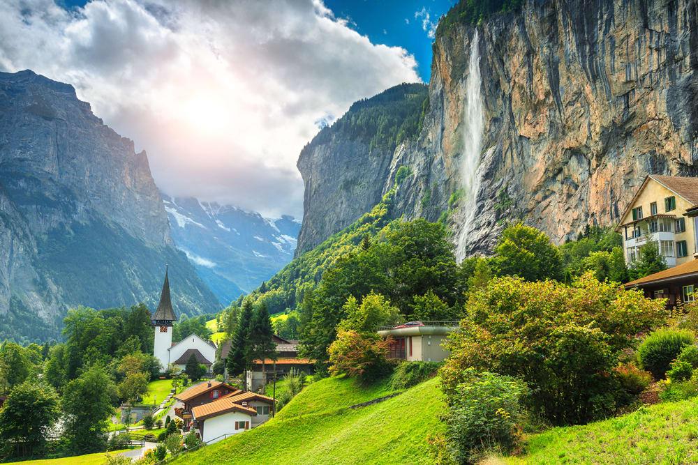 صور من سويسرا رائعة وجميلة