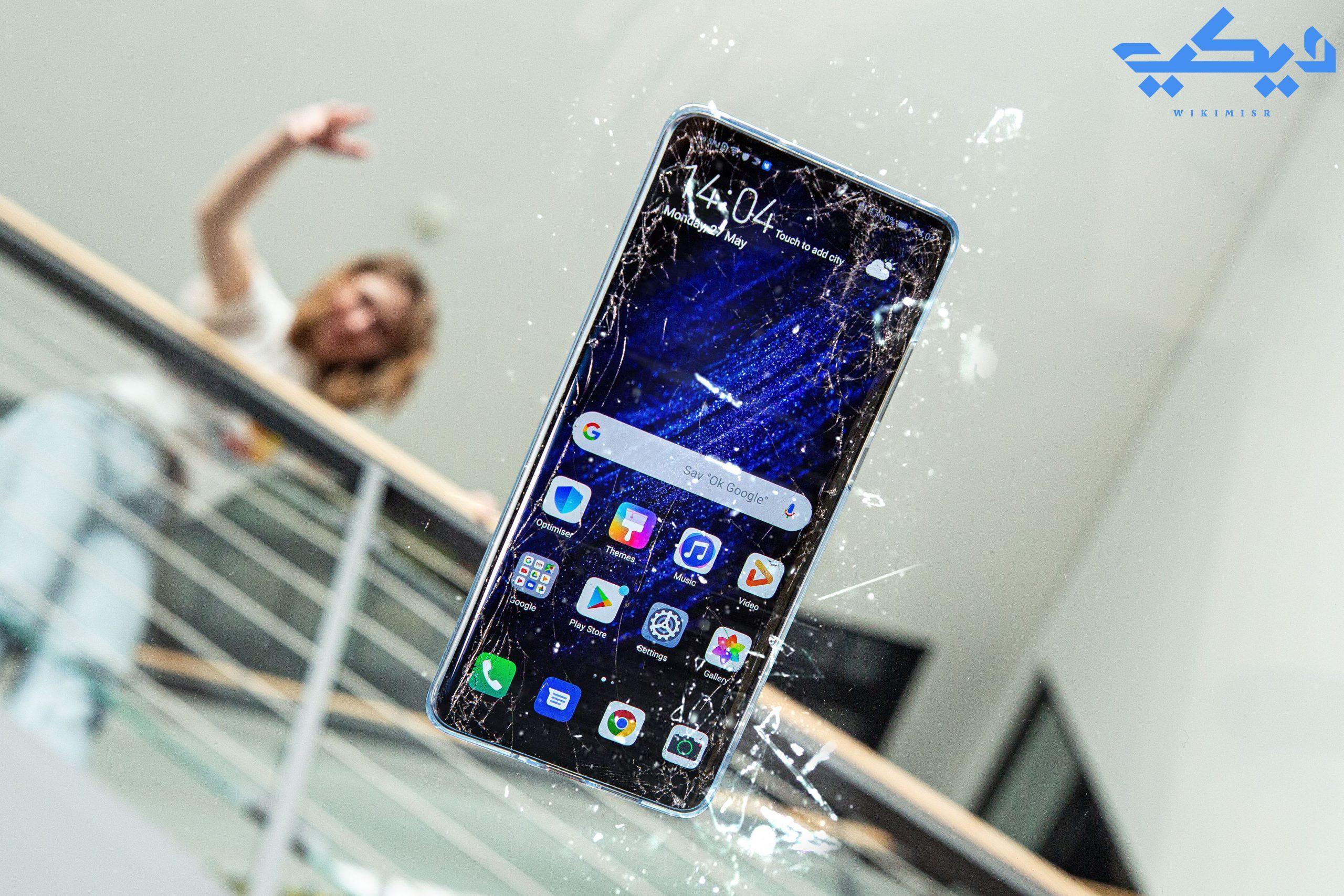 كيفية التحكم في هاتف أندرويد بشاشة مكسورة