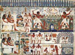 الحياة اليومية فى مصر القديمة.