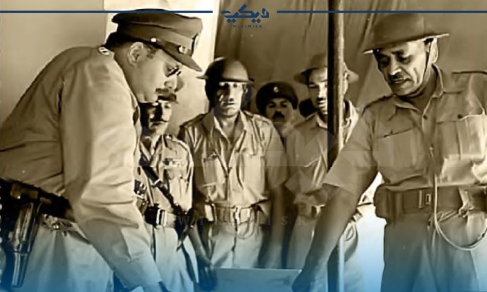 الملك فاروق الأول في حرب 1948م