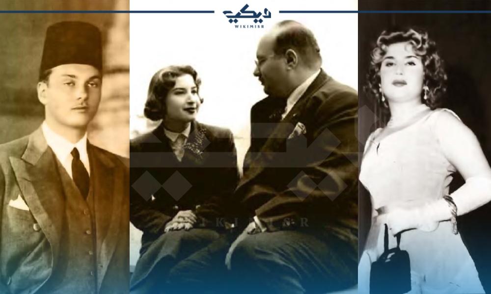 الملك فاروق وزوجته الملكة ناريمان قبل وبعد