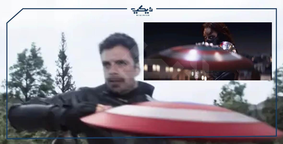 باكي ودرع كابتن أمريكا