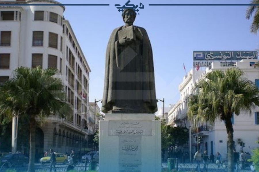 تمثال ابن خلدون في مصر