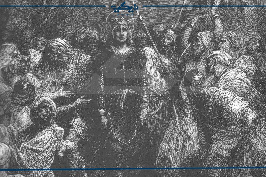 لويس التاسع أسيرًا بعد معركة فارسكور