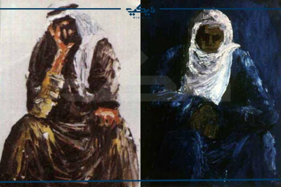 من لوحات غسان كنفاني