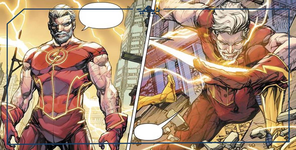 بذلة Old Barry Allen