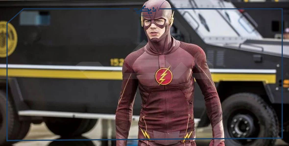 بذلة مسلسل The Flash بالموسم الأول