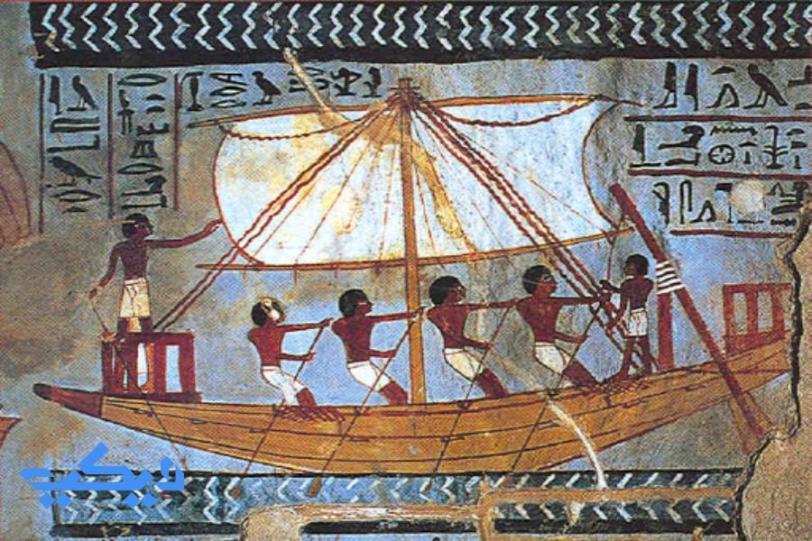 النيل فى مصر القديمة.