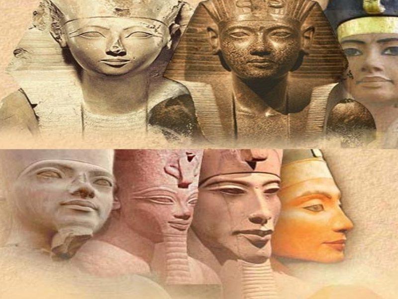 سنفرو أبو الأهرامات والمؤسس مينا وملوك مصر القديمة