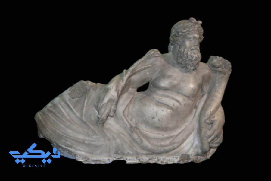 """الإله """"نيلوس"""" إله النيل فى المثيولوجيا الإغريقية."""