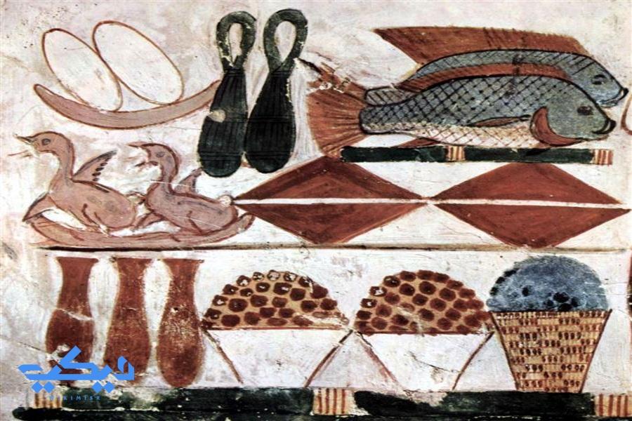 القرابين فى مصر القديمة.