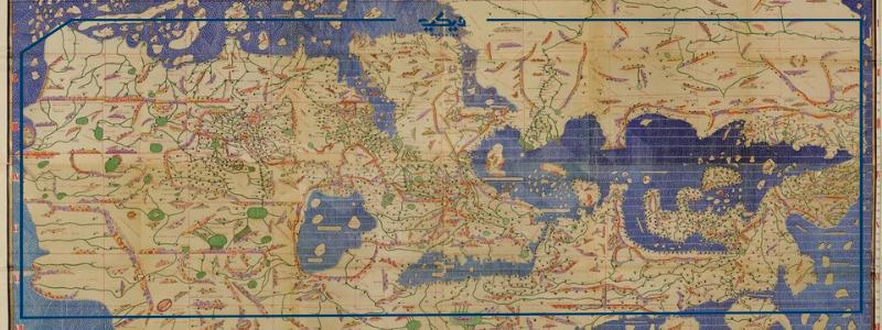 من أول شخص رسم خريطة العالم