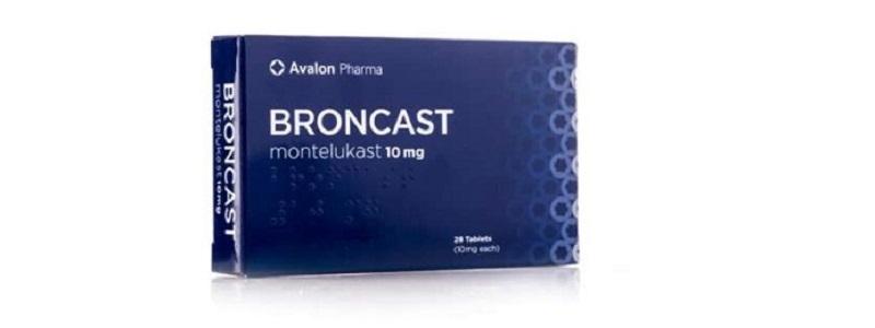 أقراص برونكاست للوقاية من نوبات الربو وضيق التنفس