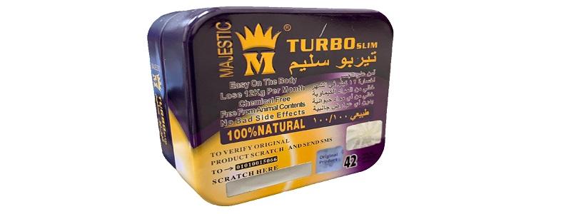 سعر ومميزات كبسولات Turbo slim majestic للتخسيس