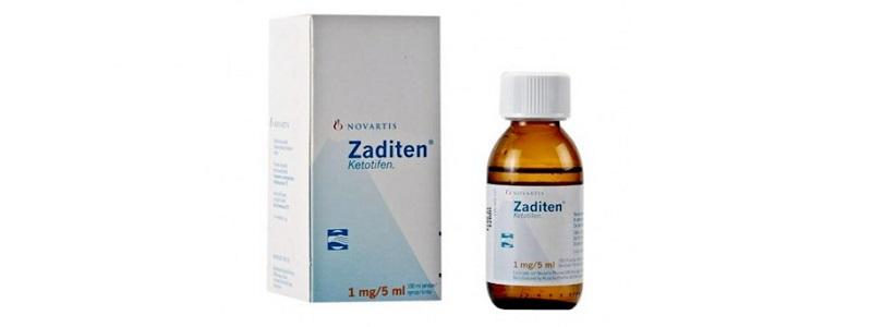 دواء Zaditen syrup لعلاج الحساسية