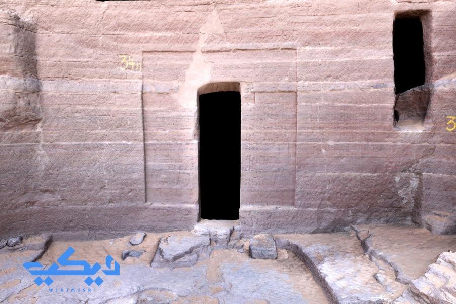 مقبرة حرخوف فى قبة الهوا, أسوان.