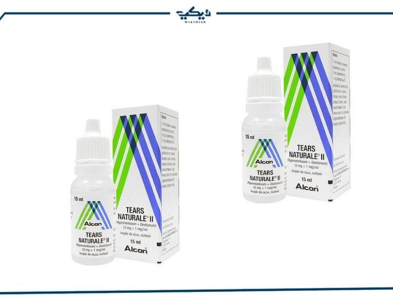 سعر قطرة تيرز ناتورال Tears natural لعلاج جفاف العيون