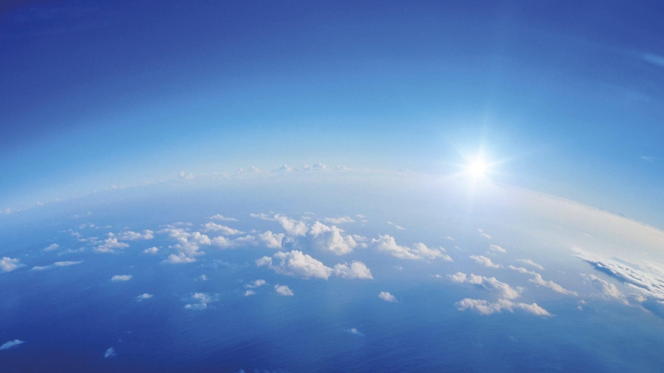السماء الصافية
