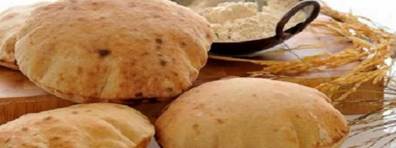السعرات الحرارية في رغيف الخبز المصري