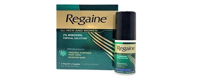 Regaine 5% solution لعلاج تساقط الشعر المستمر